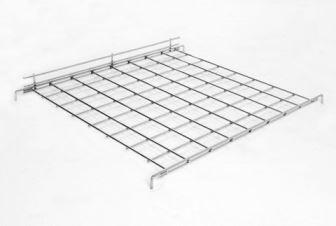 Gridwall Shelf - Frontlip