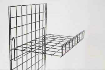 Flat shelf with Lip for Gridwall
