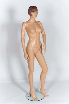 Female Mannequin Moulded Hair