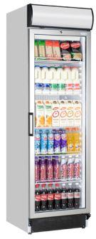 TEFCOLD - FSC1380 - Glass Door Merchandiser
