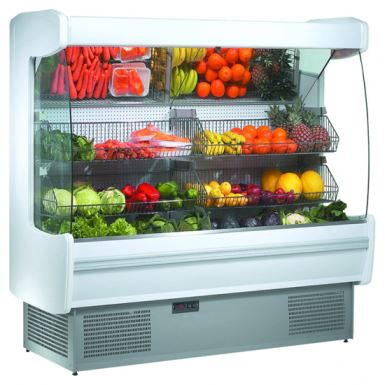 FRILIXA - MARAO FRUIT Range  - Wall Site Multideck for Fruit & Veg