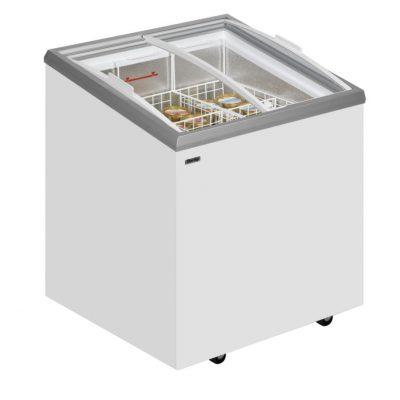 DERBY - EK-C RANGE - Sliding Curved Glass Lid Chest Freezer