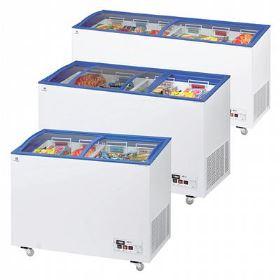 ARCABOA - ACL Range - Sliding Curved Glass Lid Chest Freezer