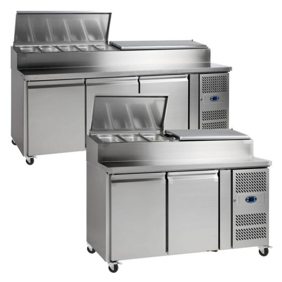 TEFCOLD - SS Range - Gastronorm Preparation Counter