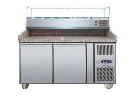 TEFCOLD - PT Range - Gastronorm Preparation Table