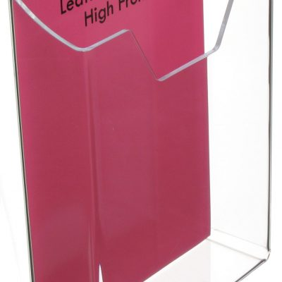 Wall Mounting Leaflet Dispenser - High Front