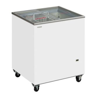 TEFCOLD - SC RANGE - Sliding Flat Glass Lid Chest Freezer