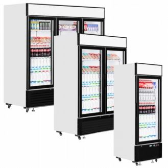 Interlevin LGC Range - Glass Door Merchandiser