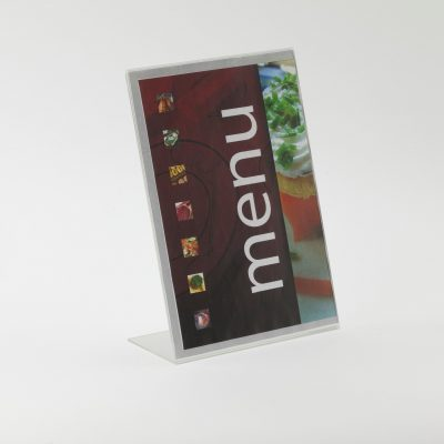 Freestanding 'Lean Back' Poster Holder (Various Sizes)