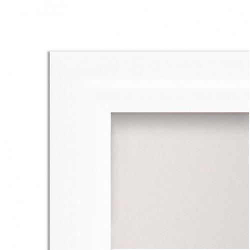 1c7c5fdda778 25mm Snap Frames - White - Poster Display   Sign Holders