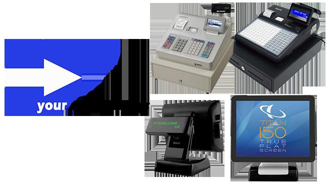 Landing page image with logov23367 - Cash Registers