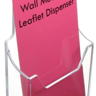 Leaflet Dispenser - Wall Mounting