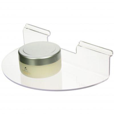 Semi-Circular Slat Shelf