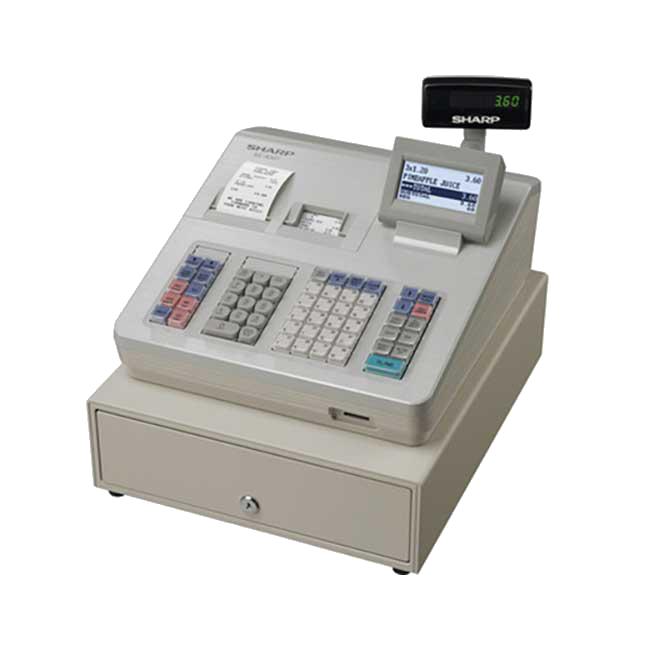 Sharp XEA 307 Cash Register 650px X 650pxpng - Cash Registers