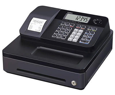 Casio SE-G1 Cash Register in Black