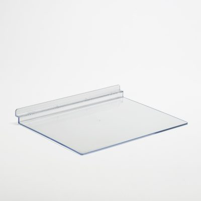 Extra Deep Flat Slatwall Shelf