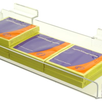 Acrylic Sundries Tray Slatwall