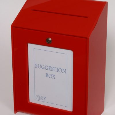 Suggestion, Ballot & Collection Boxes